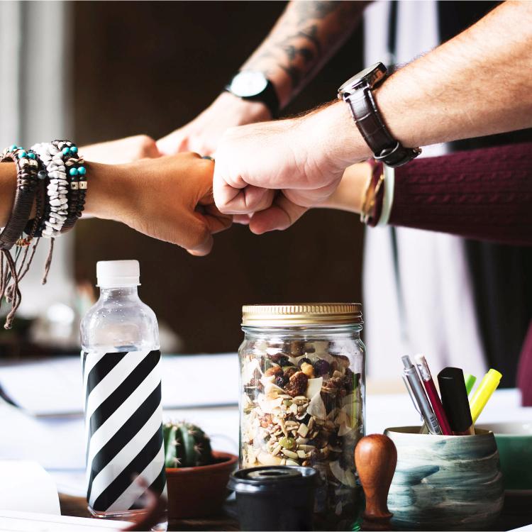 We value teamwork